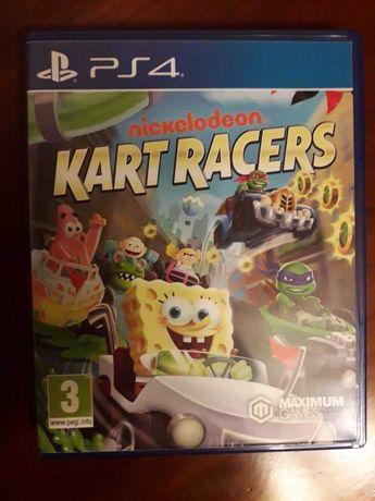 Nickelodeon Kart Racers para PS4 - Como Novo