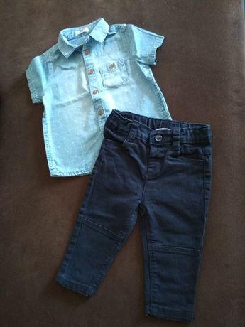 Komplet koszula + spodnie