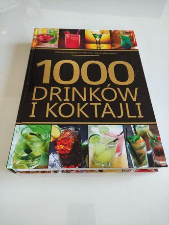 Książka 1000 drinków i koktajli