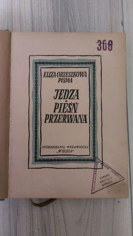E. Orzeszkowa - Jędza pieśń przerwana