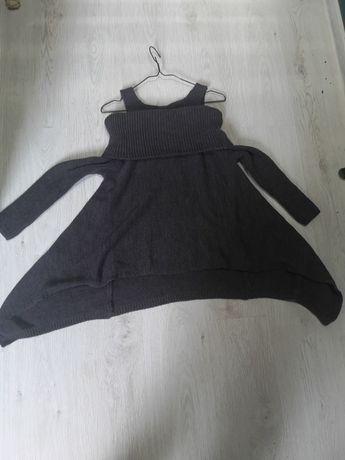 Włoski asymetryczny sweter