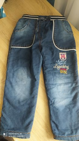 Утеплені джинси на хлопчика