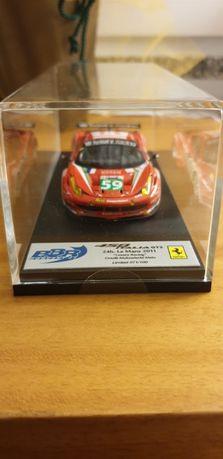 Modelo da BBR Ferrari 458 Italia 24H Le Mans 2011