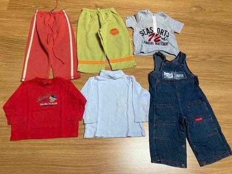 Lote de roupa criança 12/18 meses usada