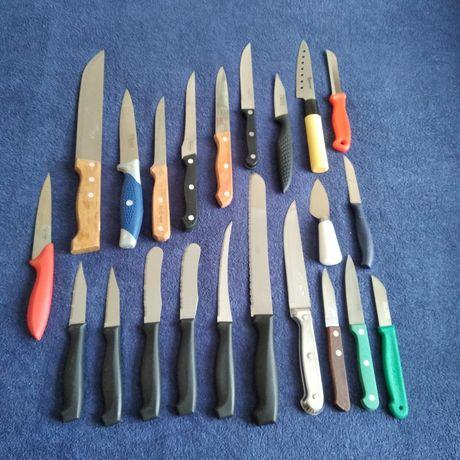 Kolekcja zbiór zestaw noży 22 sztuki