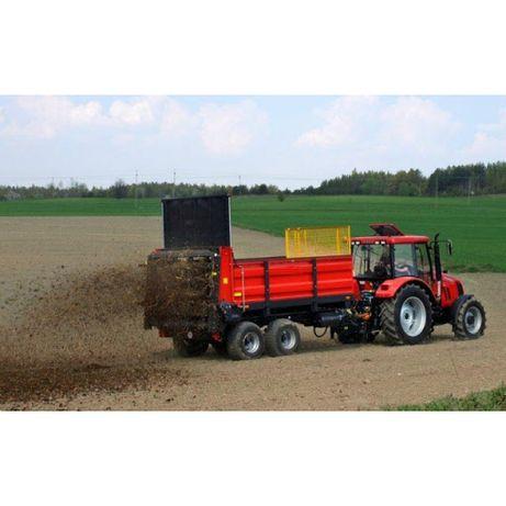 Usługi Rolnicze - Rozrzutnik obornika usługa