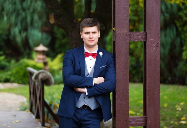 Свадебный мужской костюм, на праздник, на выпускной