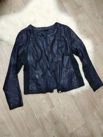 Модная женская кожаная куртка курточка из кожзама