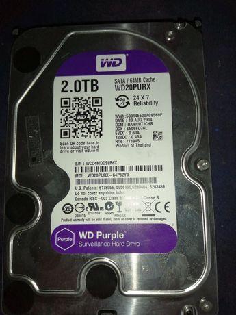 """Dysk Western Digital Purple 2 TB 3.5"""" SATA III (WD20PURX)"""