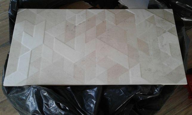 Płytki Paradyż Emilly Milio dekor beige trójkąty 4 szt.