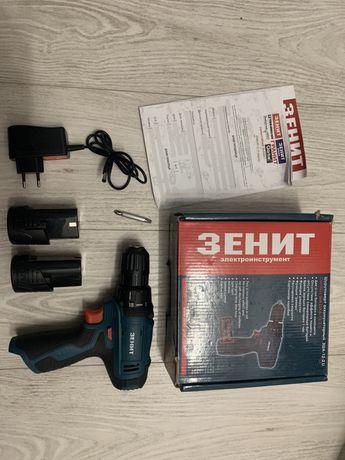 Шуруповерт аккумуляторный зенит зша 12-1 Li