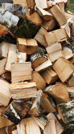 Drewno suche opałowe sezonowane. W workach.