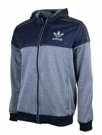 Adidas bluza dresowa z kapturem