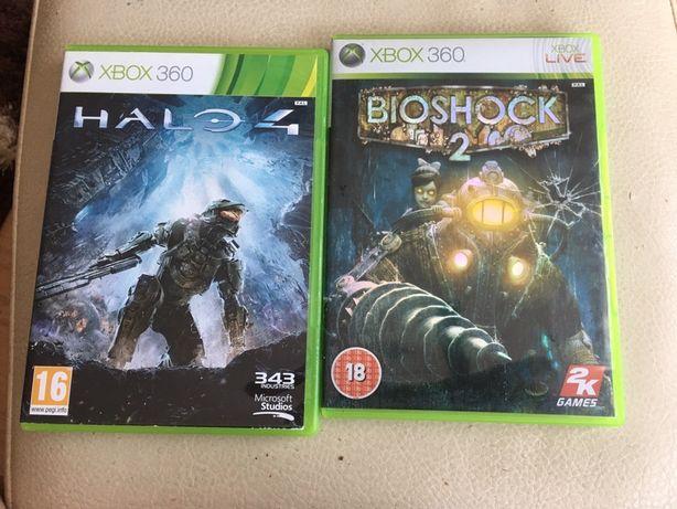 Gry Xbox 360 Halo 4 wersja Pl, Bioshock 2