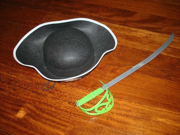 Espada + chapéu de pirata ´