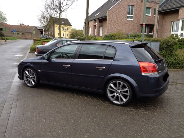 Opel Signum Spoiler daszek