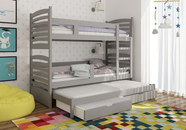 Łóżko piętrowe 3-osobowe OLI