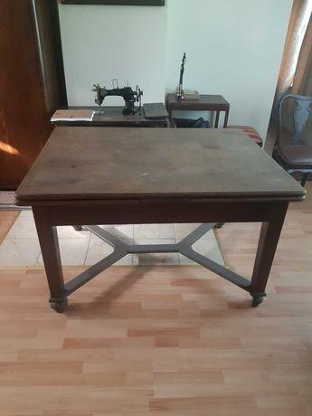 Stół rozkładany antyk