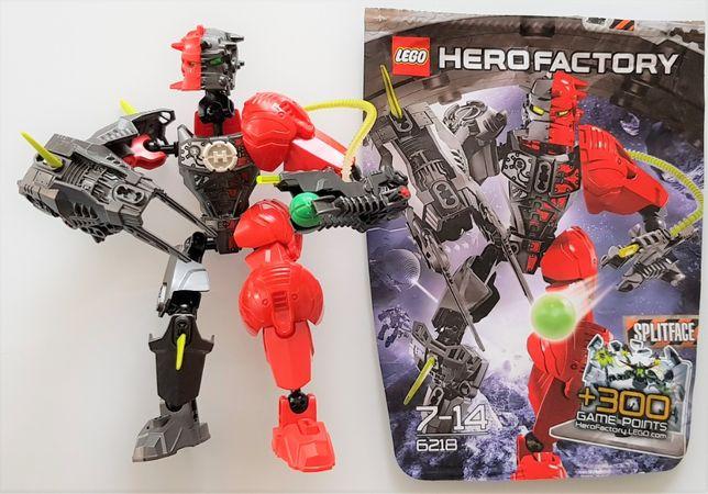 Klocki LEGO SPLITFACE hero factory Robot Heros