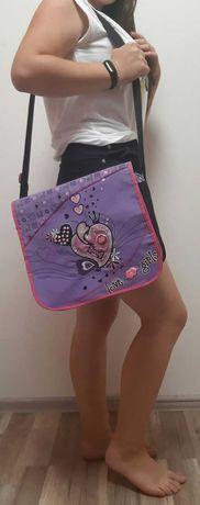 Сумка школьная для девочки, рюкзак школьный, школьная сумка на плечо
