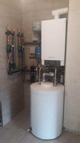 Instalacje centralnego ogrzewania , sanitarne wod kan gaz