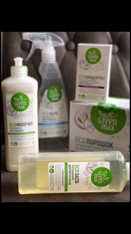 Средство для чистки кухонных поверхностей Green Max/ White Mandarin