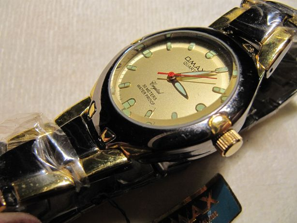 Часы Omax в коллекцию,2003-2004 года,механизм Epson,WR-50m, новые