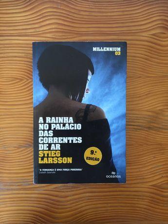 A Rainha no Palácio das Correntes de Ar - Stieg Larsson