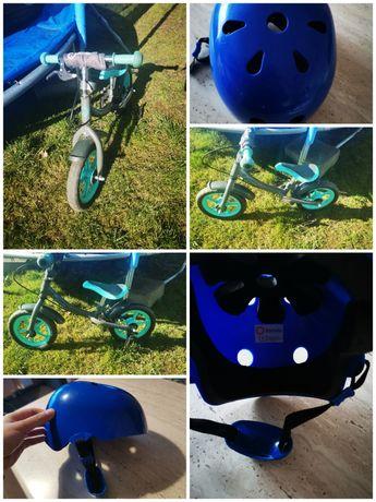 Rowerek biegowy Lionelo Dan Plus + kask