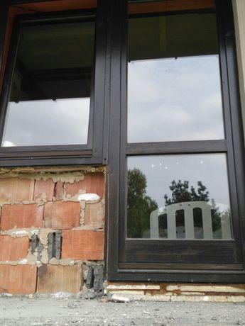 Okna drewniane w calosci z futrynami