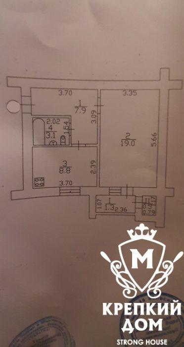 Отличная однушка в кирпичном доме Чернигов - изображение 1
