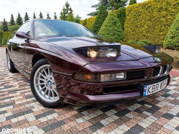 BMW Seria 8 850i V12 300 KM Zadbany Klasyk polecam