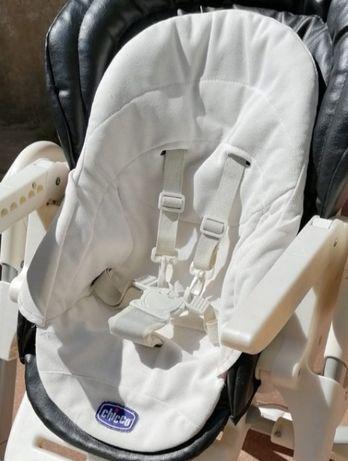 Forro e Redutor Cadeira Refeição CHICCO Polly Usado Entrego Alfragide
