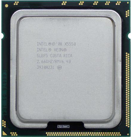 Процессор Intel Xeon X5550 lga 1366 x58 4 Ядра/8 Потоков (I7 920) DDR3