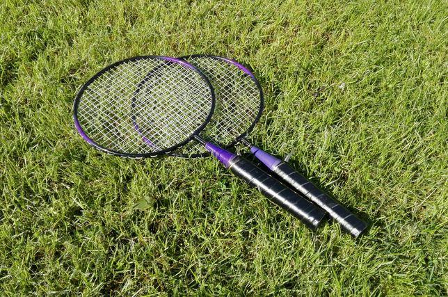 Rakietki paletki do badmintona dla dzieci dziecięce do nauki Badminton