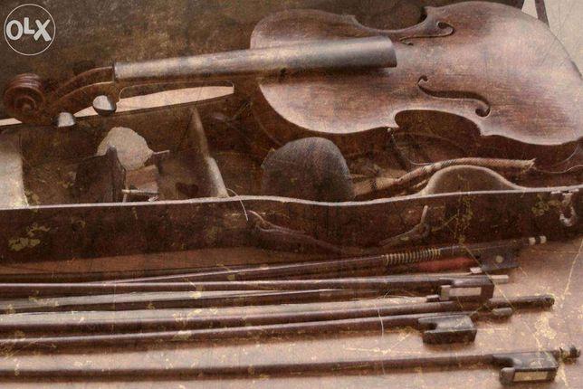 restauro e manutenção de violinos