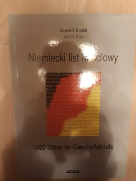 """Książka """"Niemiecki list handlowy"""""""