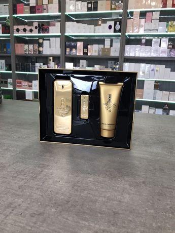Perfumy Paco Rabanne 1 milion edt 100 ml+5ml edt +100ml Gel