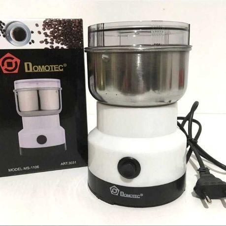Электроимпульсная кофемолка из нержавеющей стали 150W Domotec MS-1106