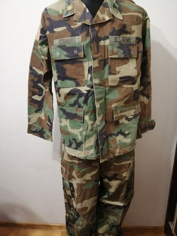 Mundur U.S Army bdu woodland Large Regular plus gratis!!!