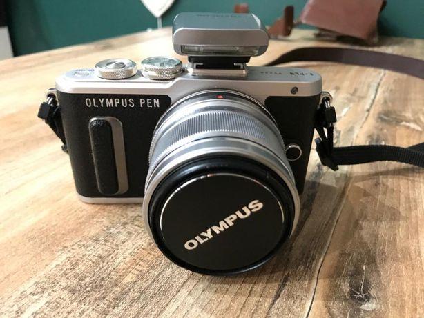 Aparat Olympus E-PL8 bezlusterkowiec + M.Zuiko Digital 25mm F1.8 + kit