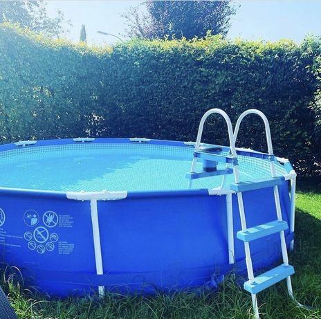 Каркасний басейн Intex 305*76см + фільтр-насос!!!
