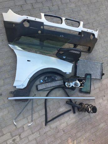 Czesci BMW X3 E83 oraz F25  Zderzak blotnik lampy oraz wiele innych