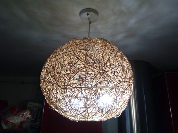 Плетені світильники