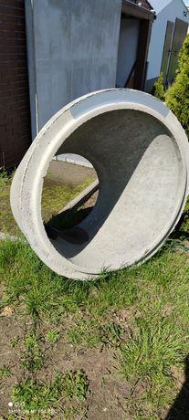 Krąg  betonowy , zwężka