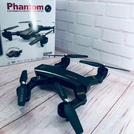 Квадрокоптер Phantom Tomito c WiFi камерой складывающийся корпус
