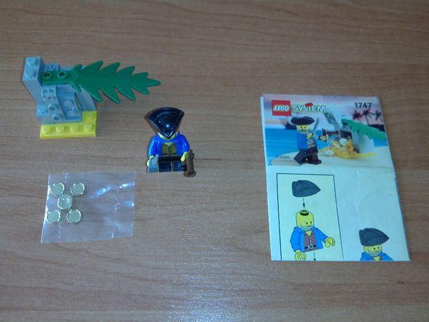 Lego kg Pirates 1747 - Treasure Surprise - Unikat - Nowe Monety !!