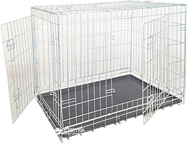 Клетка в авто Croci Spa цинковая двухдверная 78*55*62 см