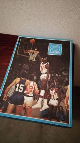 Cesto de mini basketball SALTER
