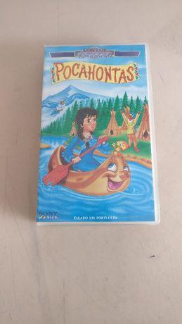 Cassete VHS: Pocahontas 1995